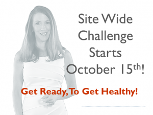 Site Wide Challenge Starts Oct 15 - Slider