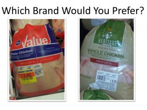 Slide - compare kroger value and heritage packages