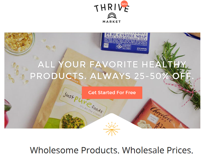 Check Out Thrive Market!