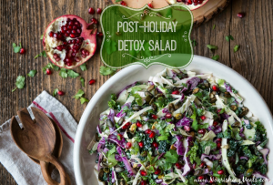 post holiday detox salad