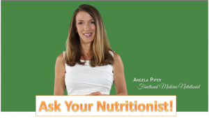 Ask Your Nutritionist