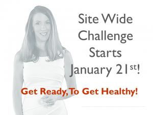 Site Wide Challenge Starts Jan 21